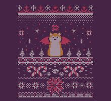 Ugly Holiday Sweater (Pink) Unisex T-Shirt