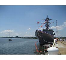 USS Truxtun (DDG 103) Photographic Print