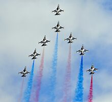 Black Eagles Waddington Airshow 2012 by merlin676