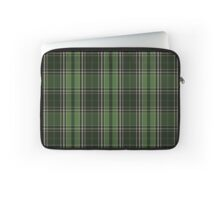 Voyager Inspired Plaid w Silver Tree Broach Laptop Sleeve