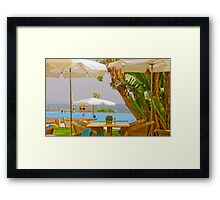 a perfect summer Framed Print