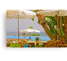 a perfect summer Canvas Print