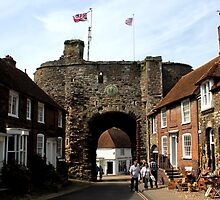 Rye, East Sussex - Landgate by rsangsterkelly