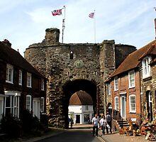 Rye, East Sussex - Landgate by rsangsterkelly