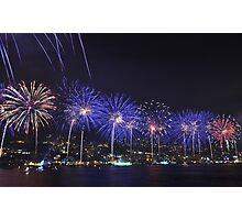 Junieh Fireworks Photographic Print