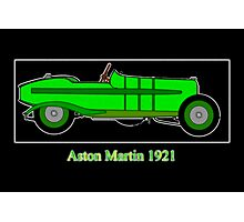 Aston Martin 5 GP 1921 Photographic Print