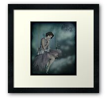 On the other side of the clouds... Framed Print