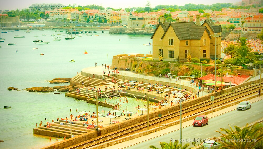 Estoril~Cascais bay by terezadelpilar ~ art & architecture