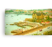 Estoril~Cascais bay Canvas Print