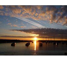 Harbour sunrise 2012 Photographic Print