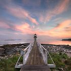 Marshall Point Sunset by Lori Deiter