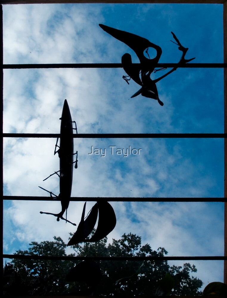 Skyboat Silhouette by Jay Taylor