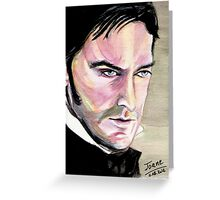 Richard Armitage, Thornton, watercolor Greeting Card