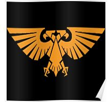 Warhammer 40000 Imperial Guard Eagle Warhammer 40K Video Game Logo Poster