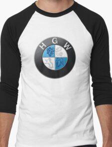 Harry Potter HGW HoGWarts (BMW logo) Men's Baseball ¾ T-Shirt