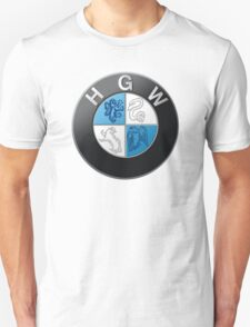 Harry Potter HGW HoGWarts (BMW logo) Unisex T-Shirt