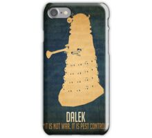 Dalek Dr. Who iPhone Case/Skin