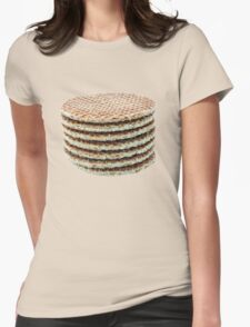 Caramel wafers in a pile T-Shirt