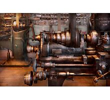 Machinist - Steampunk - 5 Speed Semi Automatic Photographic Print