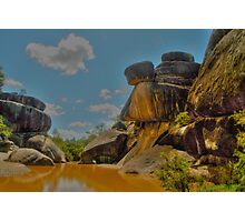 Mickey Mouse Rocks Photographic Print