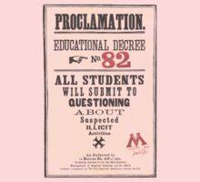 Umbridge Proclomation number 82 Kids Tee