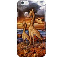 Antique Giraffes iPHONE Case iPhone Case/Skin