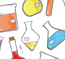 ceLABORATORY glassware Sticker