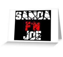 Samoa F'N Joe Greeting Card