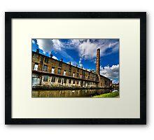 Slater Terrace, Weavers' Triangle Burnley Framed Print