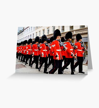 Dundee's Armed Forces Parade Greeting Card
