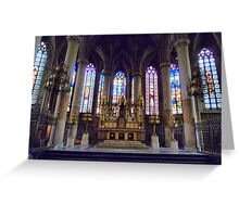 St Maurice Church Lille  Greeting Card