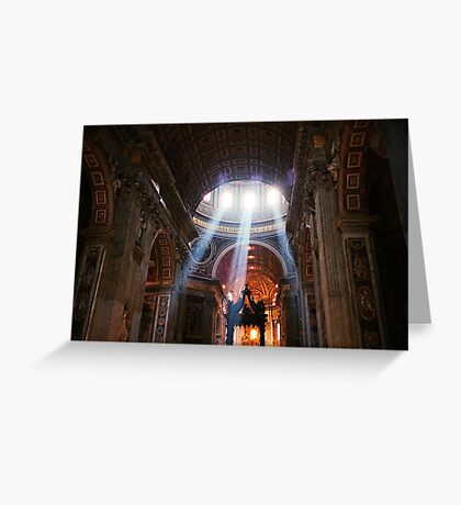 St. Peter's Basilica, Rome Greeting Card