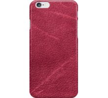 Pink leather  iPhone Case/Skin
