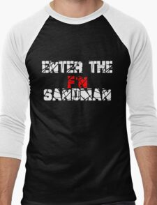 Enter the F'N Sandman Men's Baseball ¾ T-Shirt
