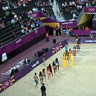 Olympic Beach Volleyball Dancers by Victoria limerick