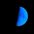 Blue Half Moon by Alex Call
