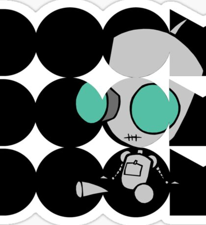 Invader Zim: Gir Doom Sticker