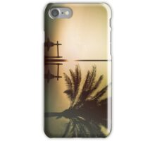 Mysterious sunset iPhone Case/Skin