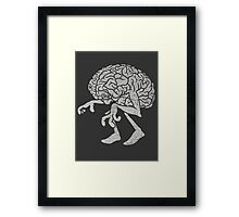 Braindead. Framed Print