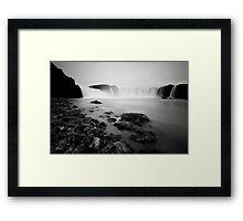 Iceland: Godafoss Framed Print