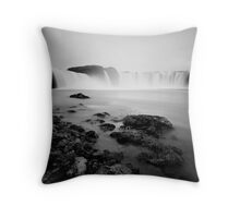 Iceland: Godafoss Throw Pillow