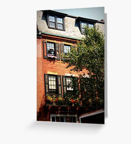 Historic Building, Boston  Greeting Card