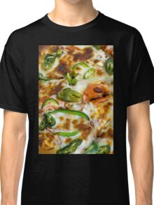Pizza Topping Close Up Classic T-Shirt