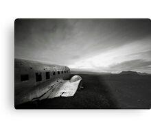 Iceland: Plane Wreck II Metal Print
