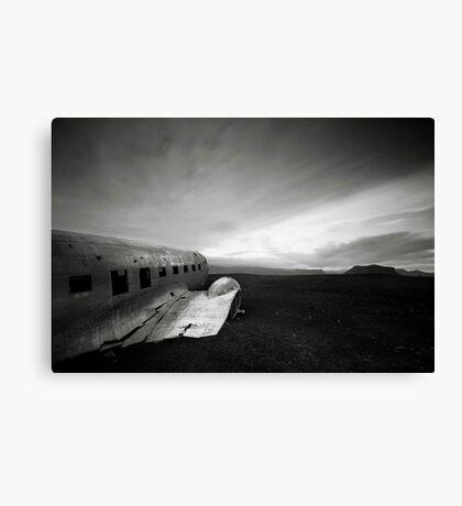 Iceland: Plane Wreck II Canvas Print
