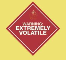 Warning: Extremely Volatile Kids Clothes