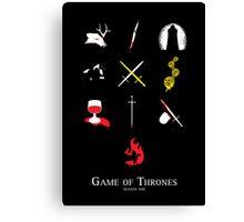 Game of Thrones Season One Canvas Print