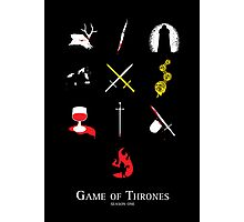 Game of Thrones Season One Photographic Print