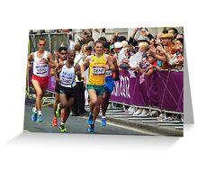Olympic Marathon London 2012 Greeting Card
