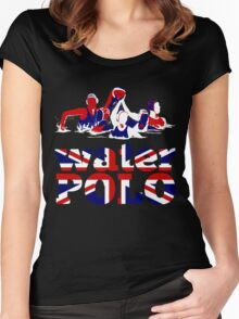 Water Polo Great Britain 2012 Women's Fitted Scoop T-Shirt